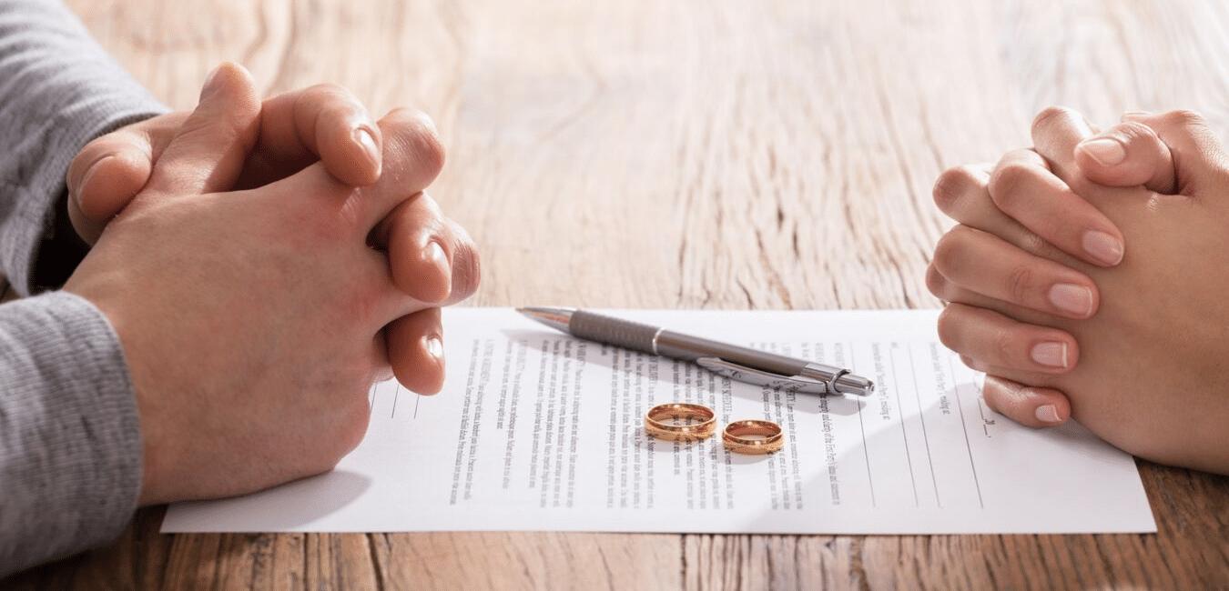 aanvragen van de scheidingspapieren